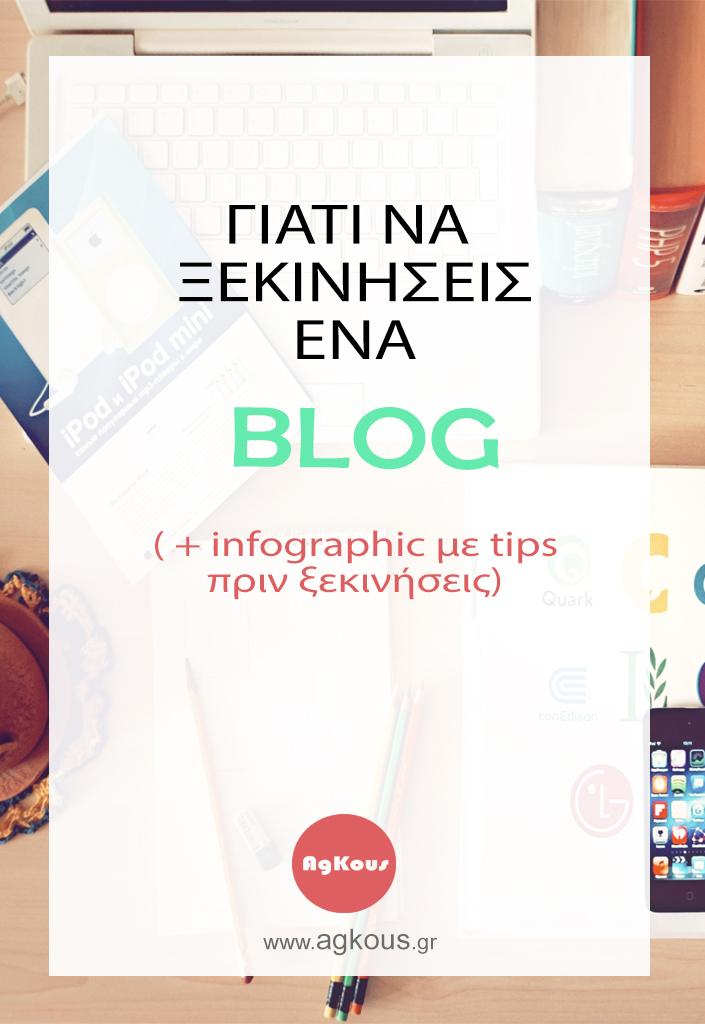 Γιατί χρειάζομαι blog
